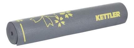 Коврик для фитнеса Kettler 7373-150 серый, желтый 5 мм