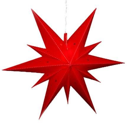 Sigro Светильник подвесной Звезда Вифлеемская 60 см красная, LED подсветка 83 3001