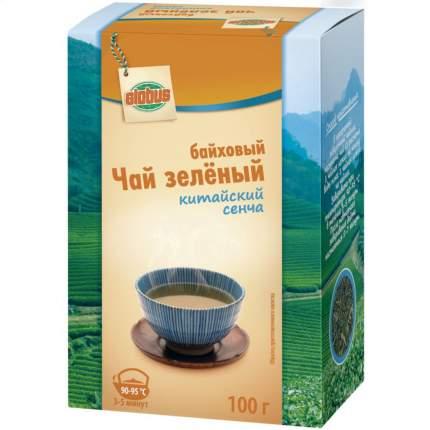 Чай зеленый Глобус китайский сенча байховый 100 г