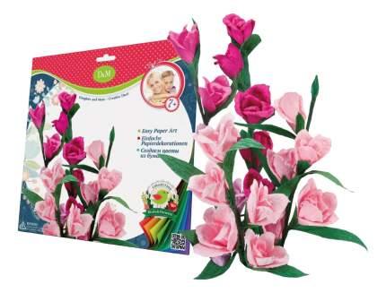 Набор для создания бумажных цветов Дикая роза Делай с мамой 57405