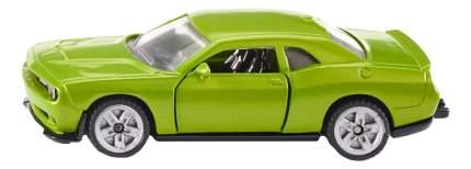 Коллекционная модель Dodge Challenger SRT Hellcat зеленая Siku 1408
