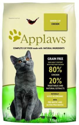 Сухой корм для кошек Applaws Senior Grain Free, для пожилых, курица, 7,5кг