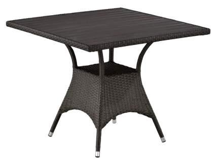 Стол Afina T190BD-W52-90х90 Brown (декинг)