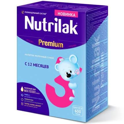 Молочная смесь 3 (от года) Nutrilak Premium 3 600 г