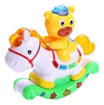 Интерактивная игрушка Shantou Gepai Медвежонок и лошадка с проектором 7481