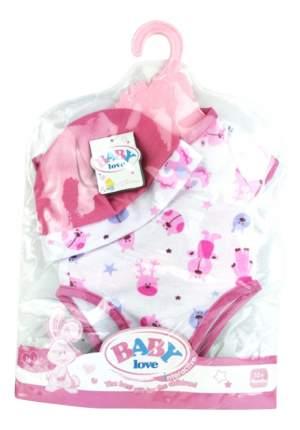 Одежда для пупсов Baby Love боди и шапочка Shantou Gepai B1468466