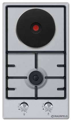 Встраиваемая варочная панель комбинированная MAUNFELD EEHS.32.3ES/KG Silver