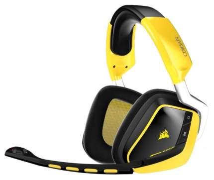 Игровые наушники Corsair VOID PRO RGB WIRELESS Yellow/Black