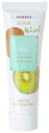 Скраб для лица Korres Gentle Exfoliating Scrub With Kiwi 18 мл