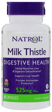 Добавка для здоровья Natrol Milk Thistle Advantage 60 капс. натуральный