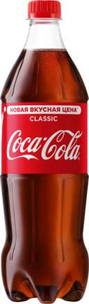 Напиток безалкогольный сильногазированный Coca-Cola сlassic пластик 0.9 л