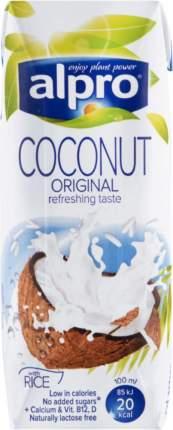Напиток кокосовый Alpro с рисом, обогащенный кальцием и витаминами 250 мл