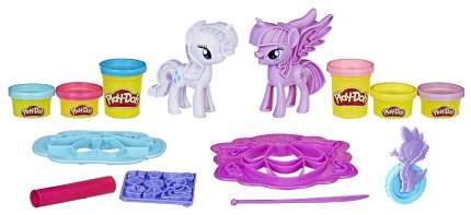 Пластилин Play-Doh Твайлайт и Рарити B9717 (1008231)
