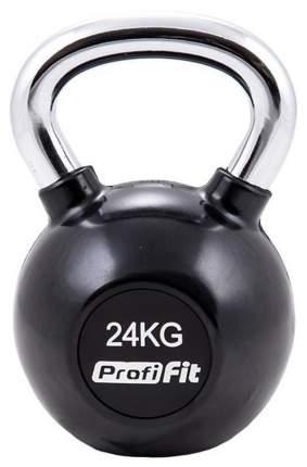 Гиря обрезиненная ProfiFit 24 кг