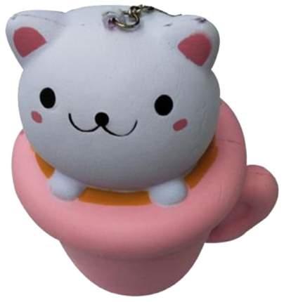 Игрушка-антистресс 1Toy Сквиши М-м-мняшка кошка в чашке T12416
