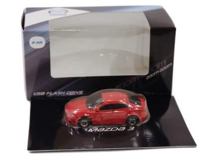 Флешка в форме Mazda 3 USB Flash Drive, 8Gb, Red, 830077726