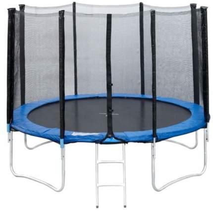 Батут Sportelite GB10202-10FT с сеткой и лестницей 305 см, black/blue