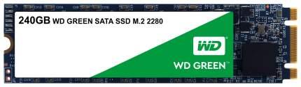 Внутренний SSD диск Western Digital Green 240GB (WDS240G2G0B)