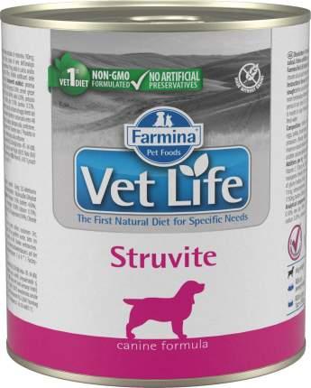 Влажный корм для собак Farmina Vet Life Struvite, диета при струвитах, курица, 300г