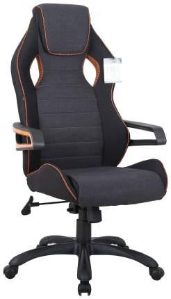 Кресло компьютерное BRABIX Techno Pro GM-003 531813 Черное/серое вставки оранжевые