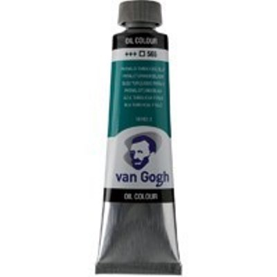 Краска масляная Van Gogh туба 40мл №565 Бирюзовый фталоцианин