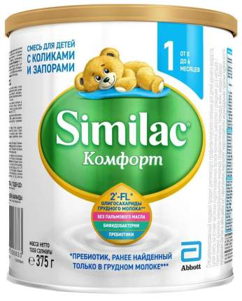 Молочная смесь Similac Comfort 1 от 0 до 6 мес. 375 г