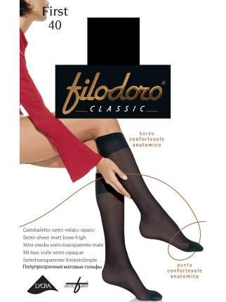 Гольфы женские Filodoro черные M/L