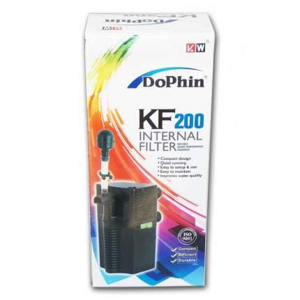 Фильтр для аквариума внутренний KW ZONE Dophin KF-200, 240 л/ч, 3,2 Вт
