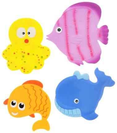 VALIANT Набор мини-ковриков Подводный мир, 4 штуки MIX4S5