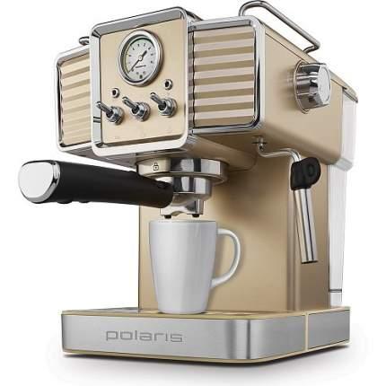 Кофеварка рожкового типа Polaris PCM 1538E Adore Crema Shampagne