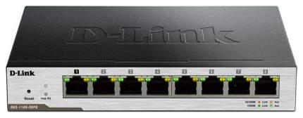 Коммутатор настраиваемый D-Link DGS-1100-08PD