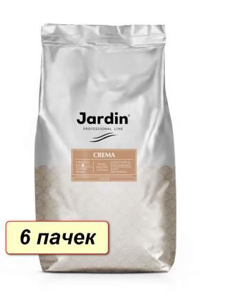 Кофе в зернах  Jardin Crema коробка 6 шт по 1000 г