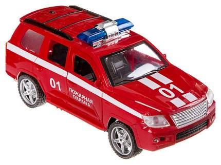 Пласт. маш. джип пожарной охраны 01 с мигалкой, открыв. двери, РАС 21х9х8 см, арт.736С.