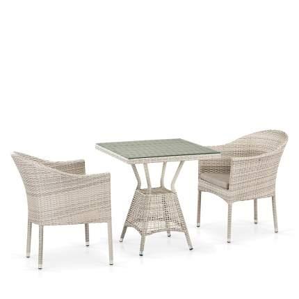 Комплект плетеной мебели  Afina T706/Y350-W85 2Pcs Latte