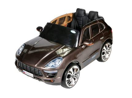 Детский электромобиль Barty М999АА (Porsche Macan), Коричневый