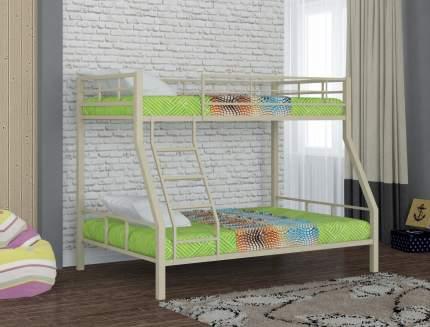 Металлическая двухъярусная кровать Redford Гранада-1 Бежевый