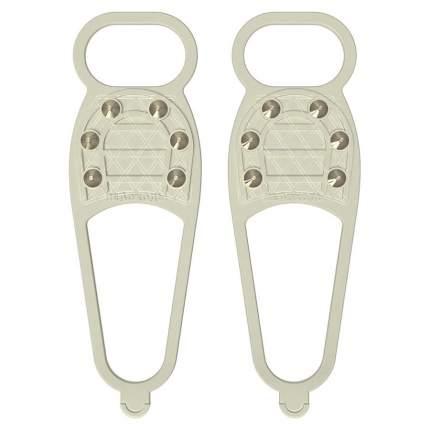 Ледоходы Стандарт(Классик) 6+6 шипов СВЕТЛЫЕ (для светлой обуви)