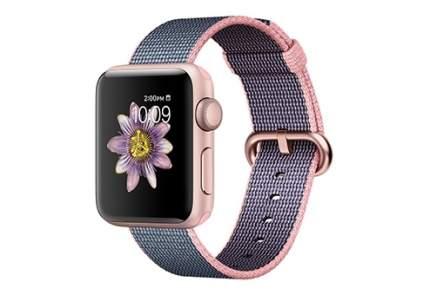 Смарт-часы Apple Watch Series 2 38mm Rose Gold/Pink/Blue (MNP02RU/A)