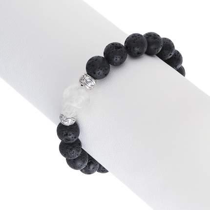 Браслет женский My-bijou 303-858 черный/прозрачный