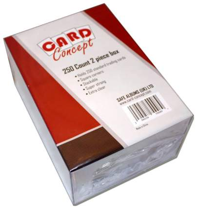 Коробочка Card Concept прозрачная на 250 карт