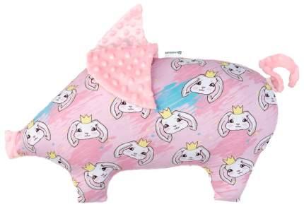 Подушка Крошка Я 45×30 см, розовый
