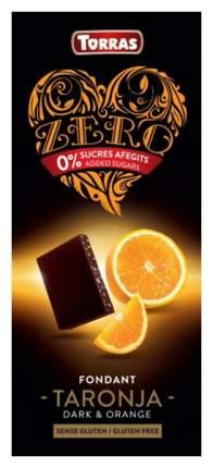 Шоколад темный Torras zero с апельсином