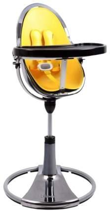 Стульчик для кормления BLOOM Fresco chrome SE графит, вкладыш желтый