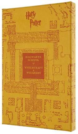 """Блокнот """"Le Harry Potter"""", 96 листов, в линейку, желтый"""