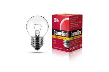 Лампа накаливания Camelion шар прозрачный 60W Е27