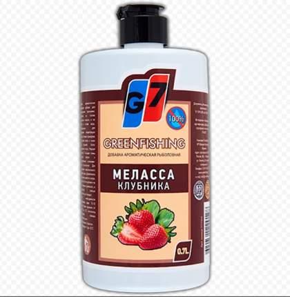 Добавка жидкая G7 Меласса, 0,7 л, клубника