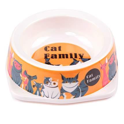 Миска для домашних животных Bobo, оранжевая, 130 мл