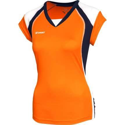 Футболка 2K Sport Energy, orange/navy/white, XXL INT