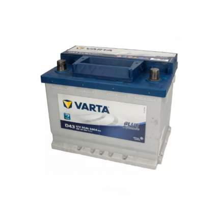 560127054_аккумуляторная Батарея! Blue Dynamic 19.5/17.9 Рус 60ah 540a 242/175/190 Varta