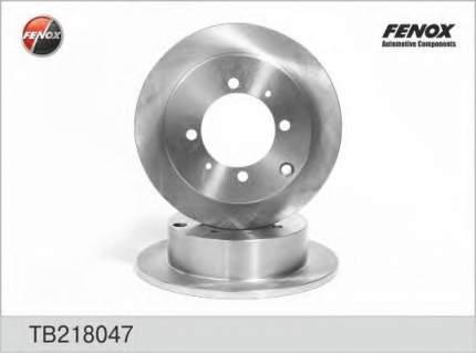 Тормозной диск FENOX TB218047